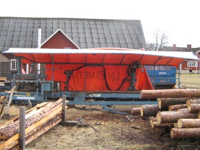 Mobilt sågverk hyra
